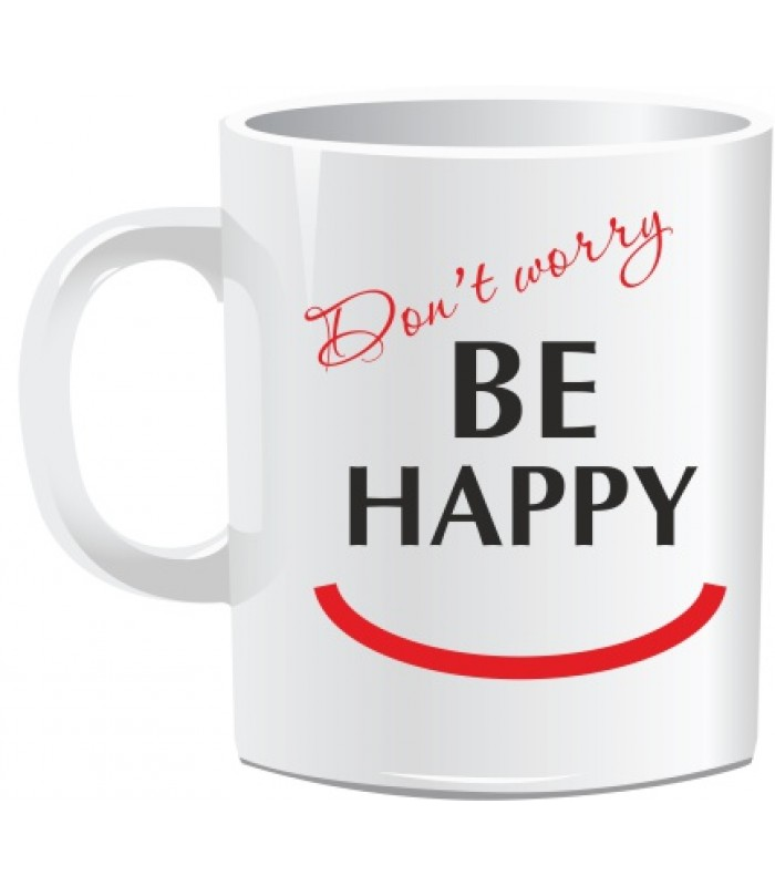 Кружка BE HAPPY