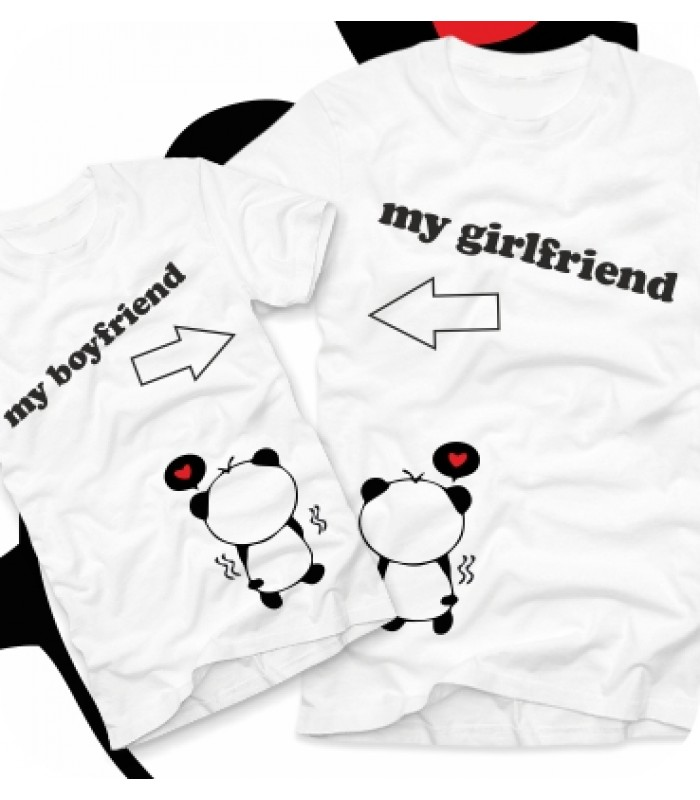Футболки парные My Boyfriend/girlfriend