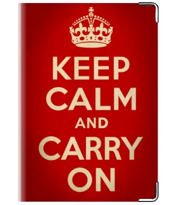"Обложка ""Keep Calm & Carry On"""