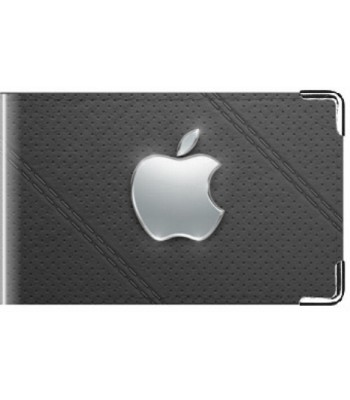 Визитница Apple black