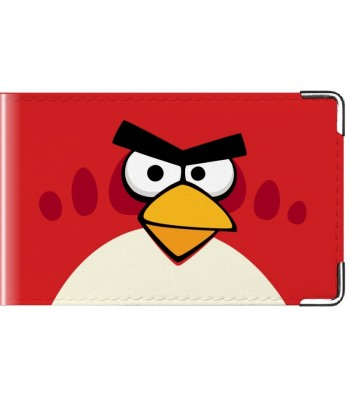 Визитница Angry Birds Red